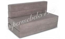 Бескаркасный диван-кровать трансформер с мебельным ППУ