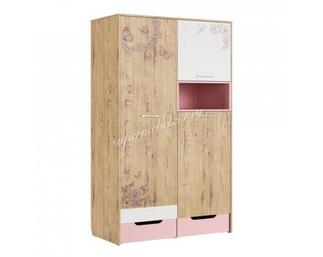 Шкаф для одежды Дублин Роуз модуль 10