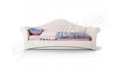 Детская кровать Рапунцель люкс белая